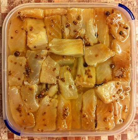 рецепт селёдкииз щуки с лимоном