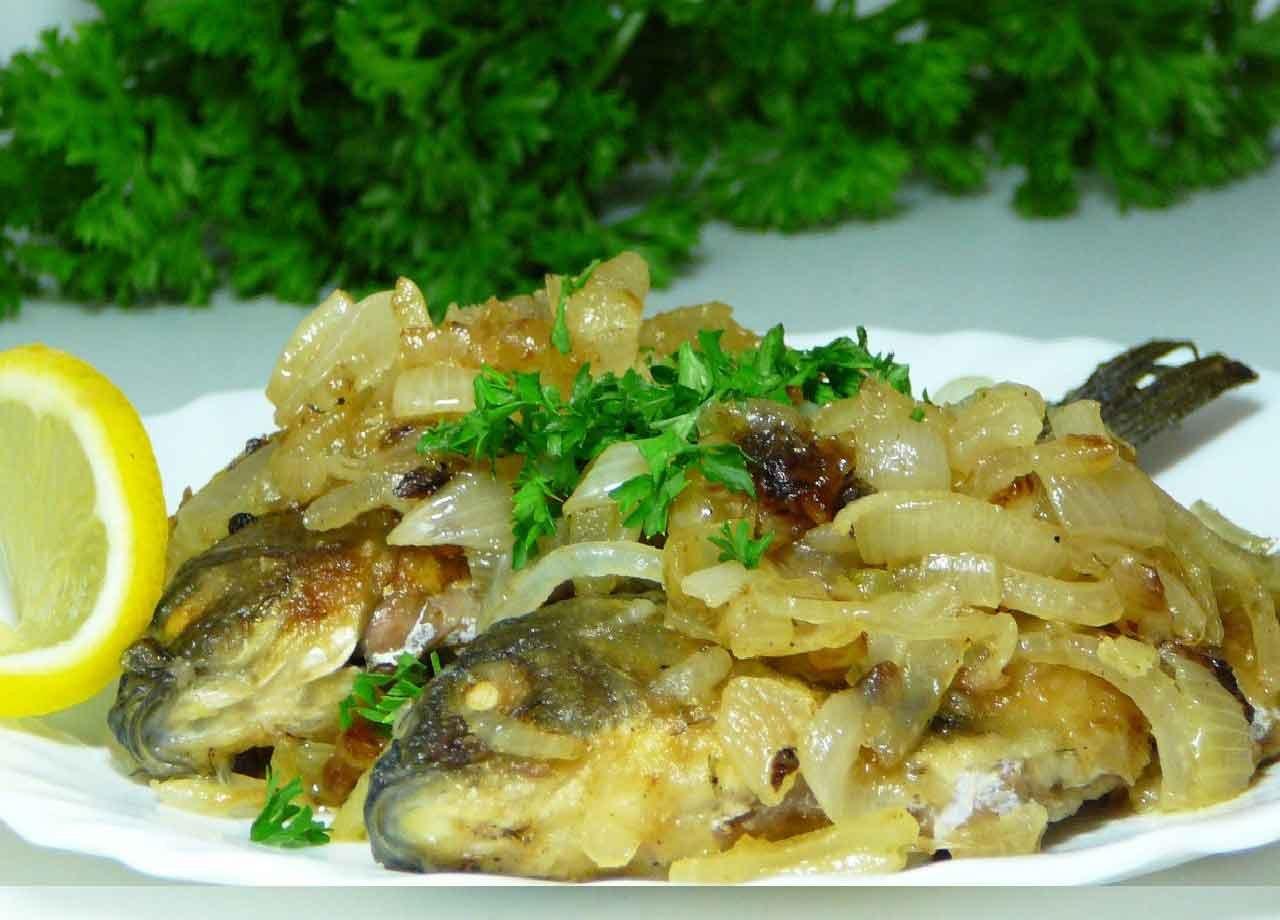 Блюда из икры карася рецепт пошагово