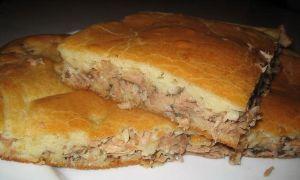 Пирог с карасями: простой и вкусный рецепт