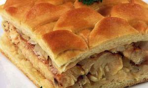 Пирог со щукой — рецепт с фото для наглядного пособия приготовления