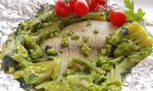 Как приготовить окунь в фольге в духовке с овощами