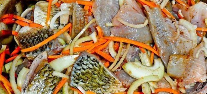 Рецепт приготовления хе из карася