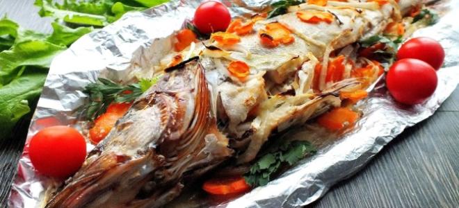 Как запечь судака в фольге в духовке: лучшие блюда
