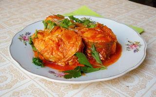 Как приготовить щуку в томате — рецепт с фото