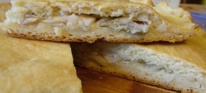 Простой рецепт пирога из судака