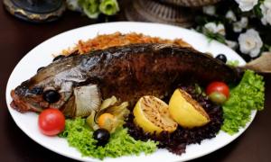 Рецепты приготовления сазана в фольге в духовке